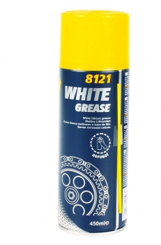 Lithium Sprühfett weiß 450ml (8121 WHITE GREASE)
