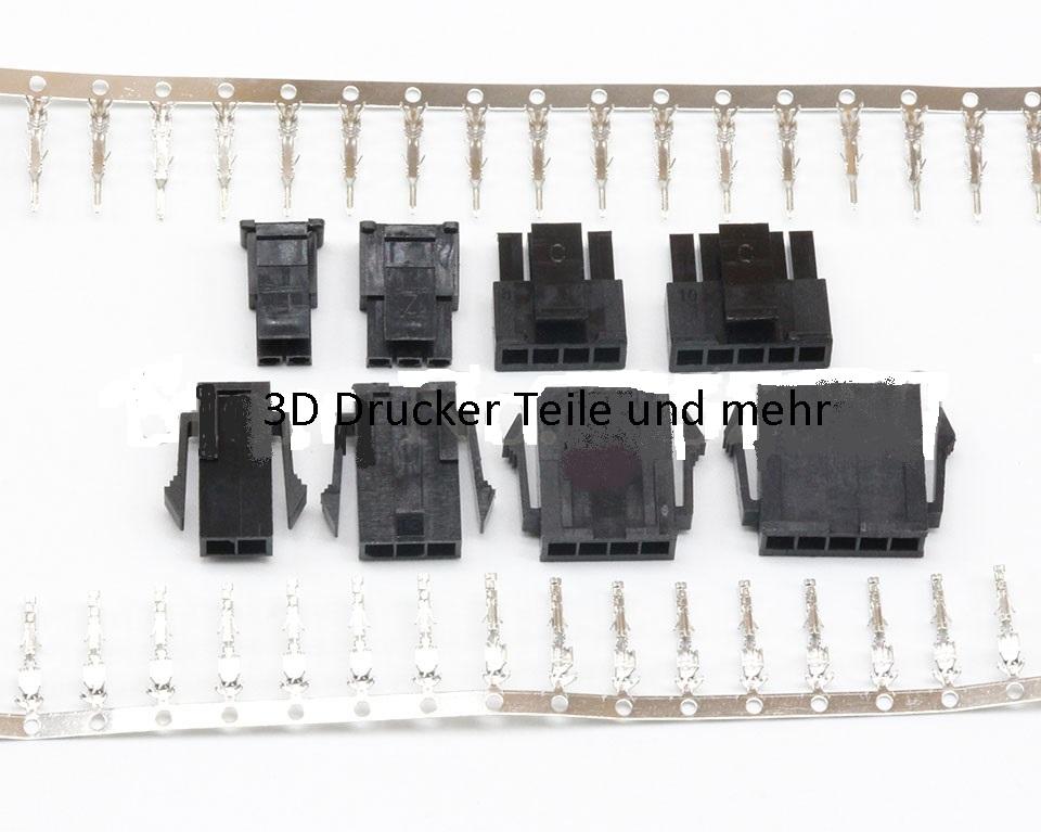 3d drucker teile und mehr molex micro fit 3pol steckersatz. Black Bedroom Furniture Sets. Home Design Ideas